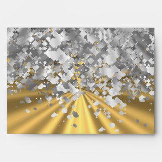 Oro y falso brillo personalizados sobre