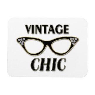 Oro y moda retra Bling del vintage de los vidrios Imanes De Vinilo