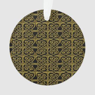 Oro y modelo conectado negro del Celtic de los