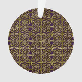 Oro y modelo conectado púrpura del Celtic de los