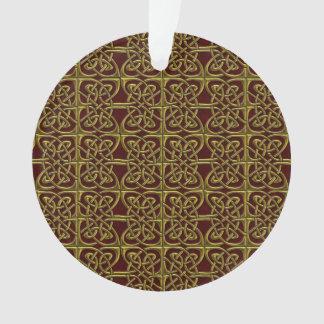 Oro y modelo conectado rojo del Celtic de los