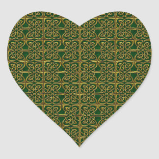 Oro y modelo conectado verde del Celtic de los