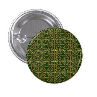 Oro y modelo conectado verde del Celtic de los Pin