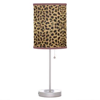 Oro y modelo manchado negro del animal del guepard