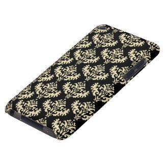 Oro y modelo negro del damasco Case-Mate iPod touch funda