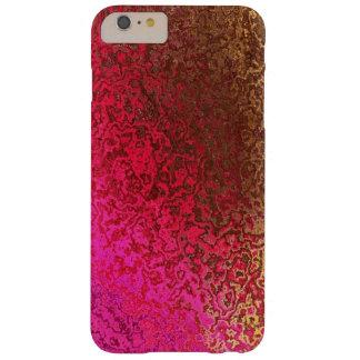 Oro y reflejo del rosa funda barely there iPhone 6 plus