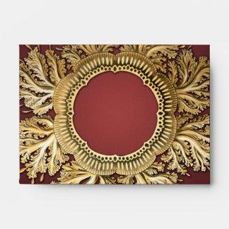 Oro y rojo de Toreuma Bellagemma Sobres