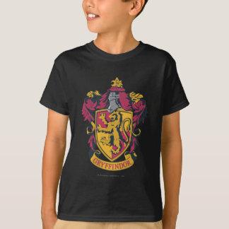 Oro y rojo del escudo de Gryffindor Playera
