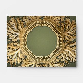 Oro y verde de Toreuma Bellagemma Sobres