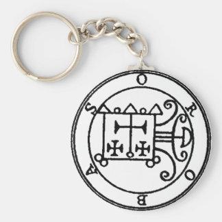 Orobas Sigil Keychain