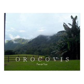 Orocovis Mountains, Puerto Rico Post Cards