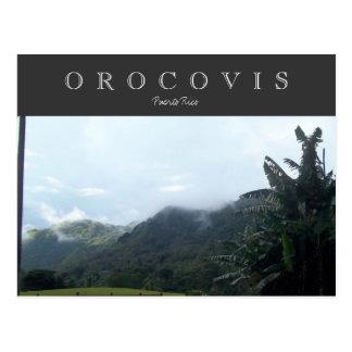 Orocovis, Puerto Rico Post Cards