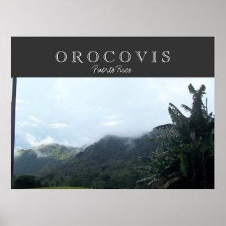 Orocovis Puerto Rico Poster