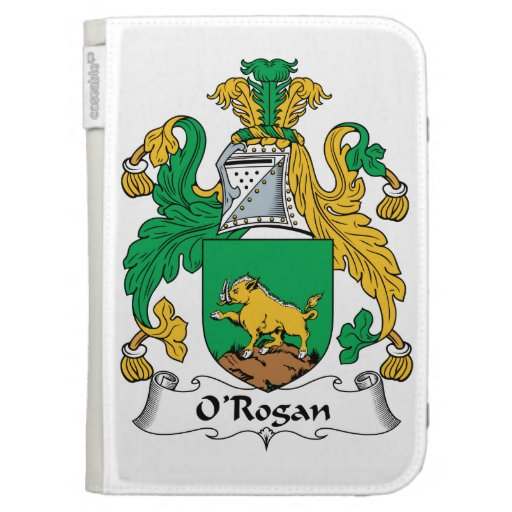 O'Rogan Family Crest Kindle 3 Cover