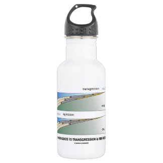 Orogeny Leads To Transgression & Regression Stainless Steel Water Bottle