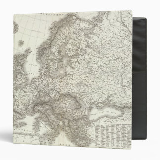 Orograph Europa - Physical Map of Europe Binder