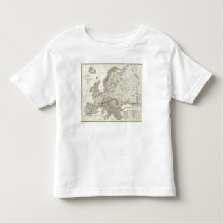 Orograph Europa - Physical Map of Europe Toddler T-shirt