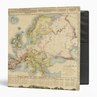 Orographic map of Europe Binder