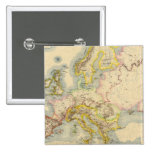 Orographic map of Europe Button