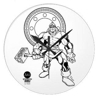 Orologio Thor Aki Large Clock