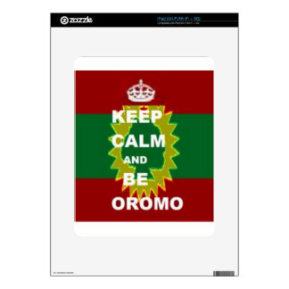 Oromo products decals for the iPad