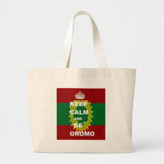 Oromo products large tote bag