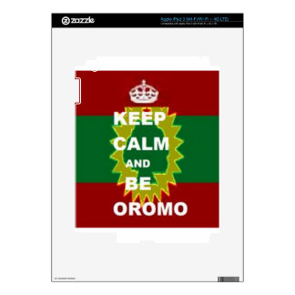 Oromo products skins for iPad 3