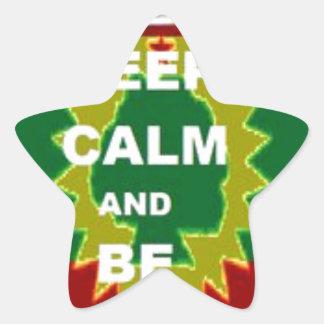 Oromo products star sticker