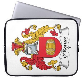 O'Ronan Family Crest Computer Sleeve