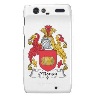 O'Ronan Family Crest Droid RAZR Cover