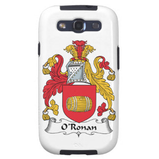 O'Ronan Family Crest Galaxy SIII Cover
