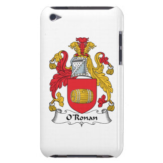 O'Ronan Family Crest iPod Touch Case-Mate Case