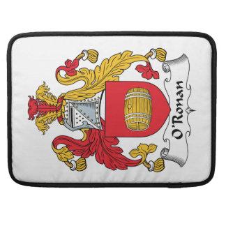 O'Ronan Family Crest MacBook Pro Sleeve