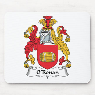 O'Ronan Family Crest Mouse Pads