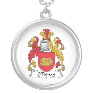 O'Ronan Family Crest Necklace