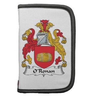 O'Ronan Family Crest Organizers
