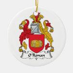 O'Ronan Family Crest Ornaments