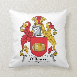 O'Ronan Family Crest Pillows