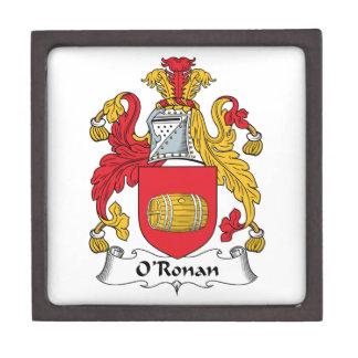 O'Ronan Family Crest Premium Gift Boxes