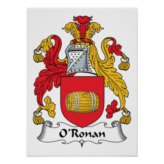 O'Ronan Family Crest Print