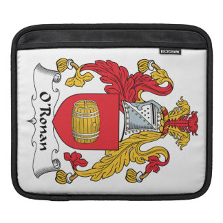 O'Ronan Family Crest Sleeves For iPads