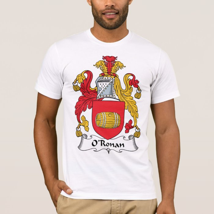 O'Ronan Family Crest T-Shirt