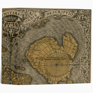 Oronce Fine 1531 Map Binders