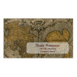 Oronce Fine 1531 Map Business Card