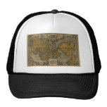 Oronce Fine 1531 Map Hats