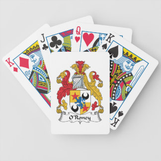 O'Roney Family Crest Card Deck