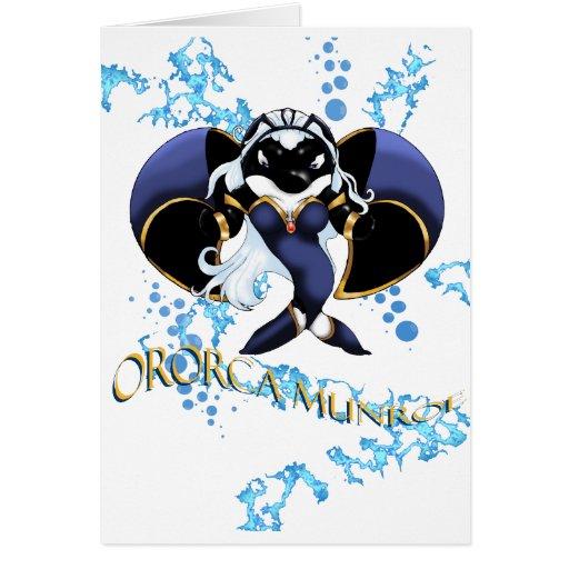 Ororca Munroe Greeting Card