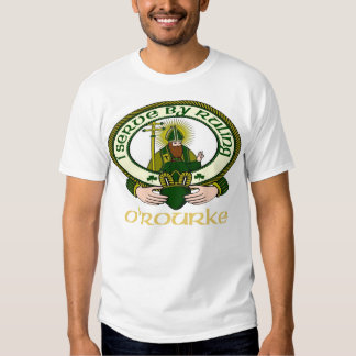 O'Rourke Clan Motto Tshirts