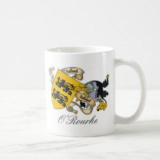 O'Rourke Family Crest Mug