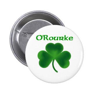 O'Rourke Shamrock Button